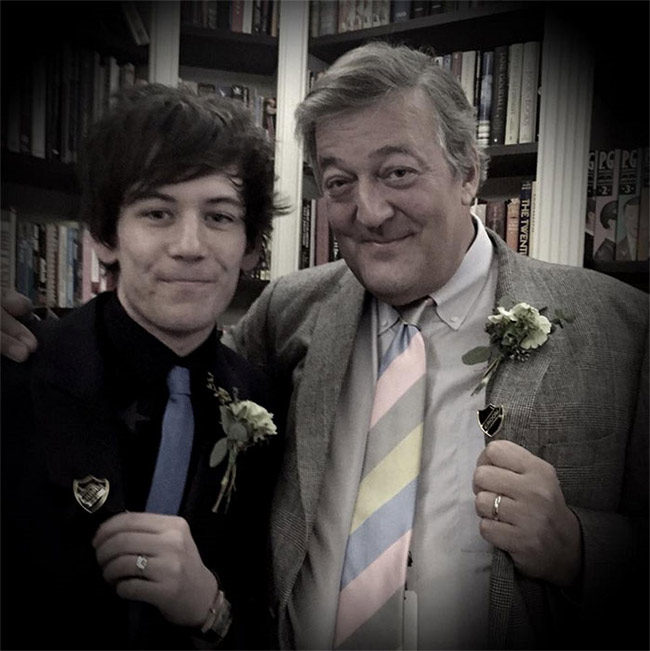 stephen fry out there wedding
