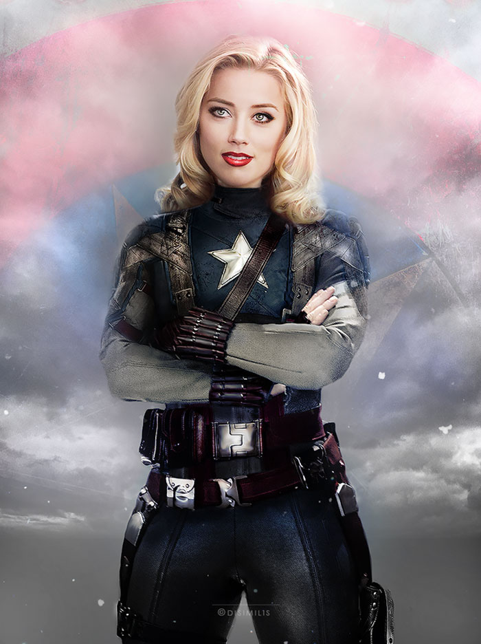 Amber Heard, avengers, gender swap, hawkeye, loki, black widow, iron man, the hulk, dr. bruce banner, thor, captain america, gay blog, tumblr, lgbt, queer, women, superheroes, marvel