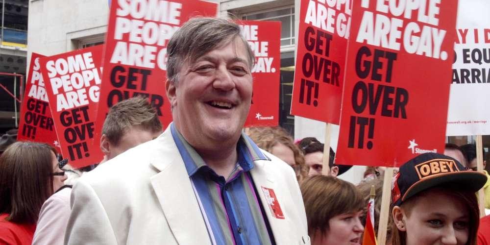 International Bisexual Superhero, Stephen Fry Fights Homophobia in This Two-Part TV Series
