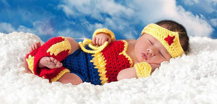 13 Ridiculously Adorable Babies Dressed As Comic Book And Fantasy Heroes