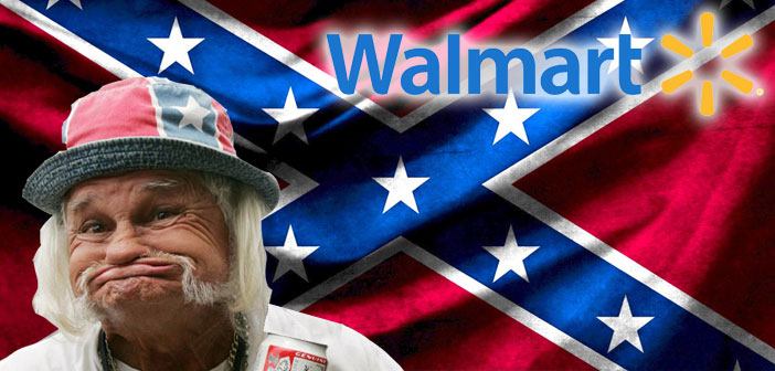 Racists Freak Over Walmart Dropping Confederate Flags, And It's Magical