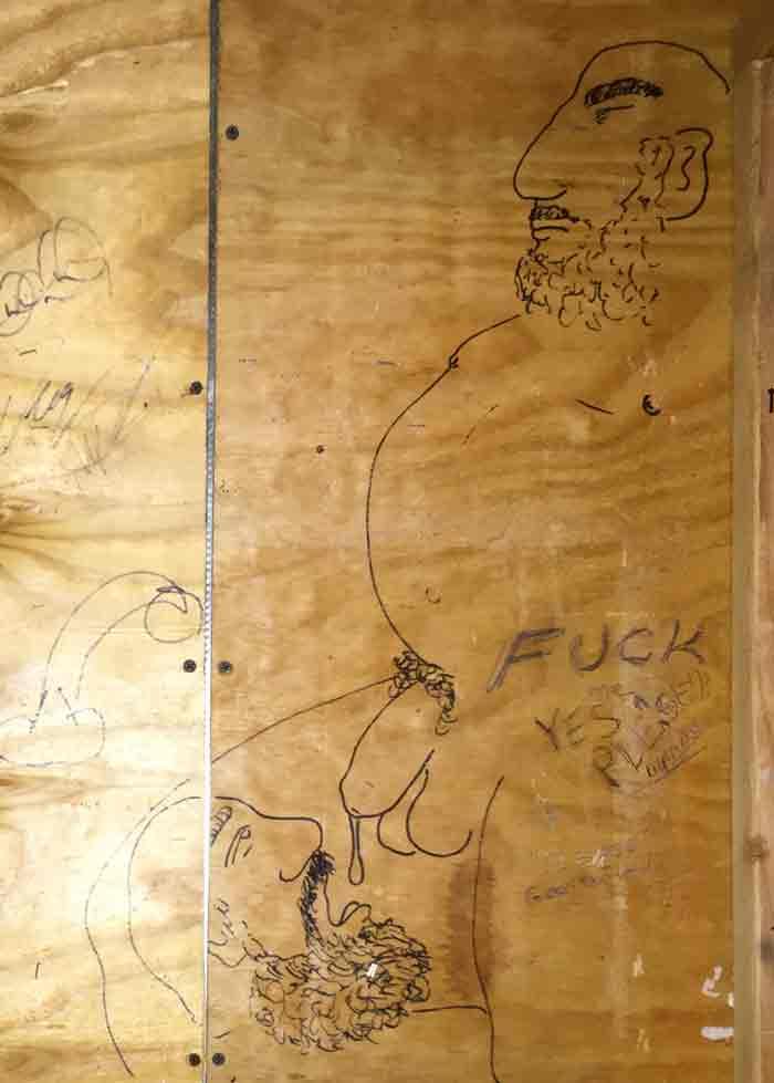 eagle, leather bar, dallas, bathroom, graffiti, art, smut, sex, dicks, cocks, blowjobs, gay blog, lgbt, queer