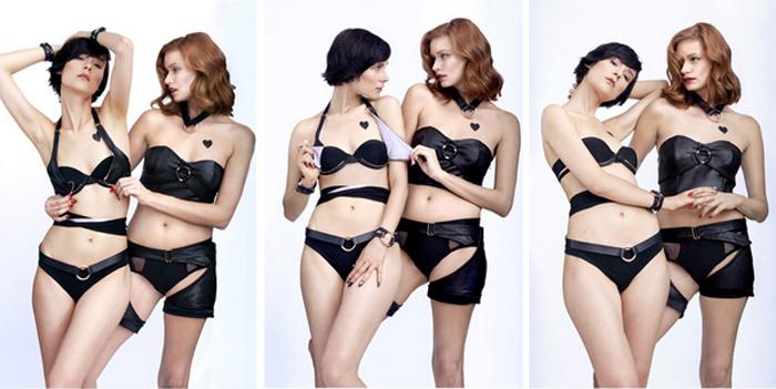 FYI by Dani Read, lingerie, queer, sexy, lesbian, women, couple