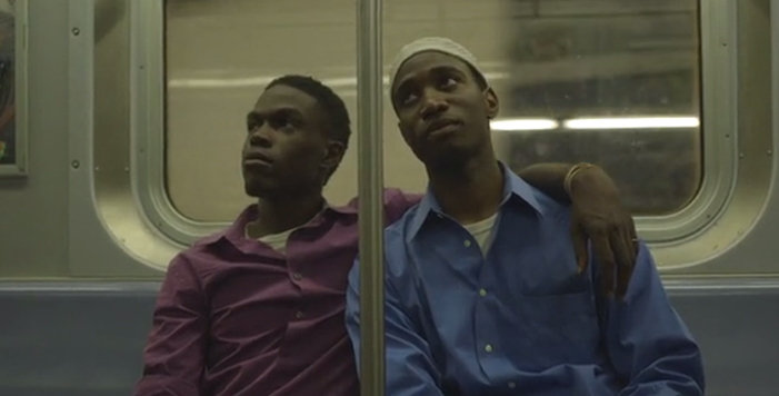 Naz and Maalik, two men, gay, black, movie, outfest, film