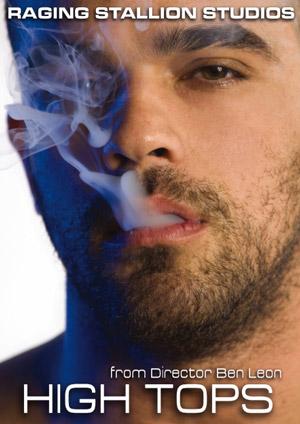 marijuana, weed, high tops, raging stallion, ben leon, gay porn