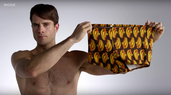 VIDEO: A Revealing Visual History of Men's Swimsuits