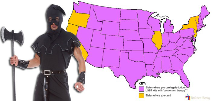 The 44 States Where You Can Legally Torture LGBT Kids With 'Conversion Therapy'
