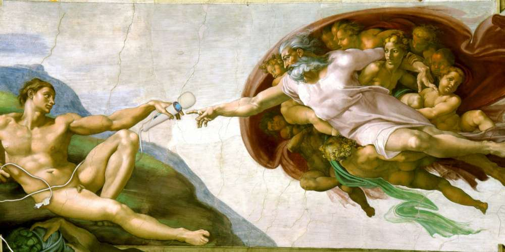 INTERVIEW: The Man Who Is Photoshopping Vibrators Into Famous Works Of Art