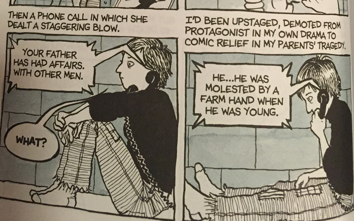 Alison Bechdel, lesbian, graphic novel, memoir, Fun Home, obscene, pornographic