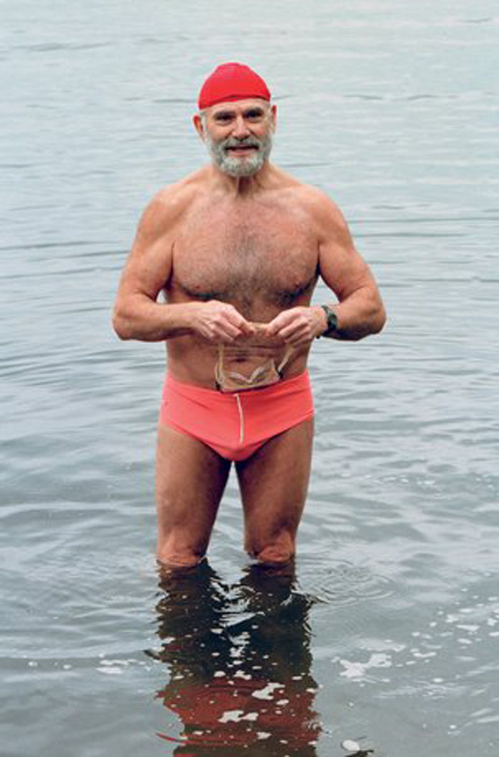 Oliver Sacks, sexy, handsome