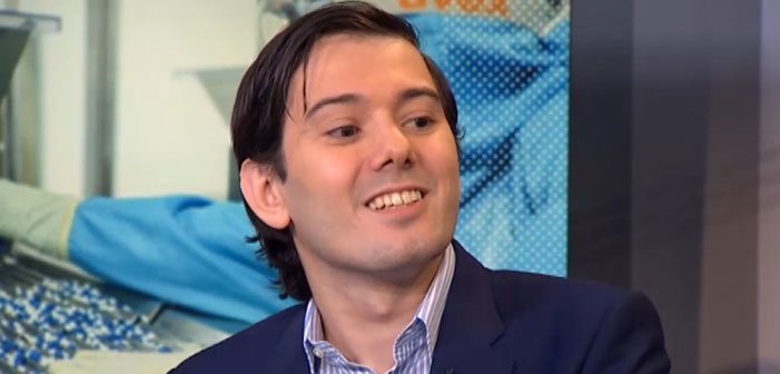 Trolling Pharma Bro for Fun and Profit