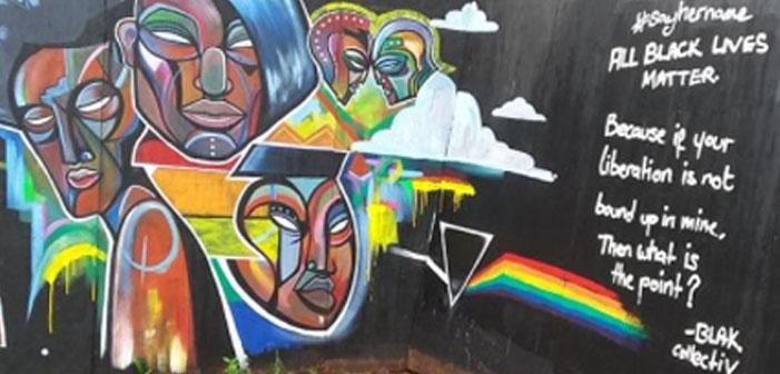 Mural For Slain Transgender Women of Color Vandalized