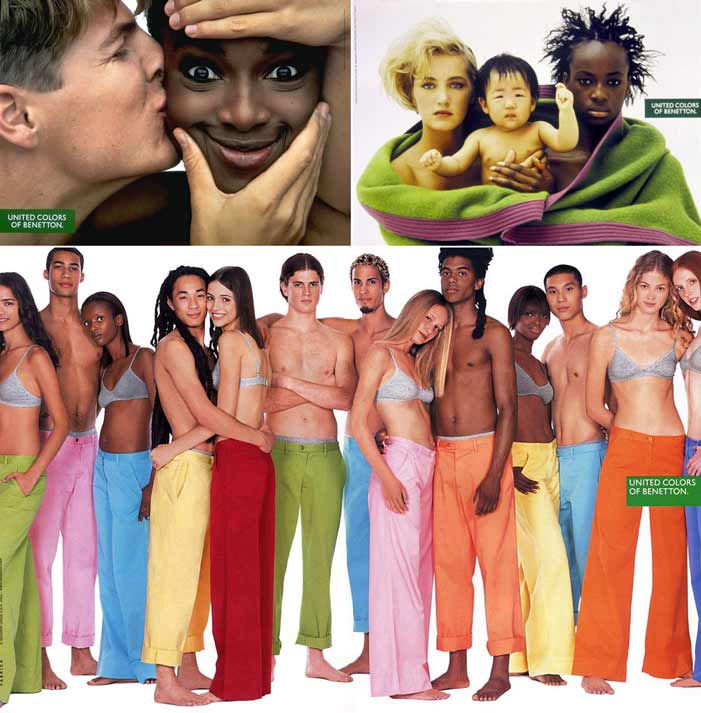 United Colors of Benetton, ad, advertising, diversity, race