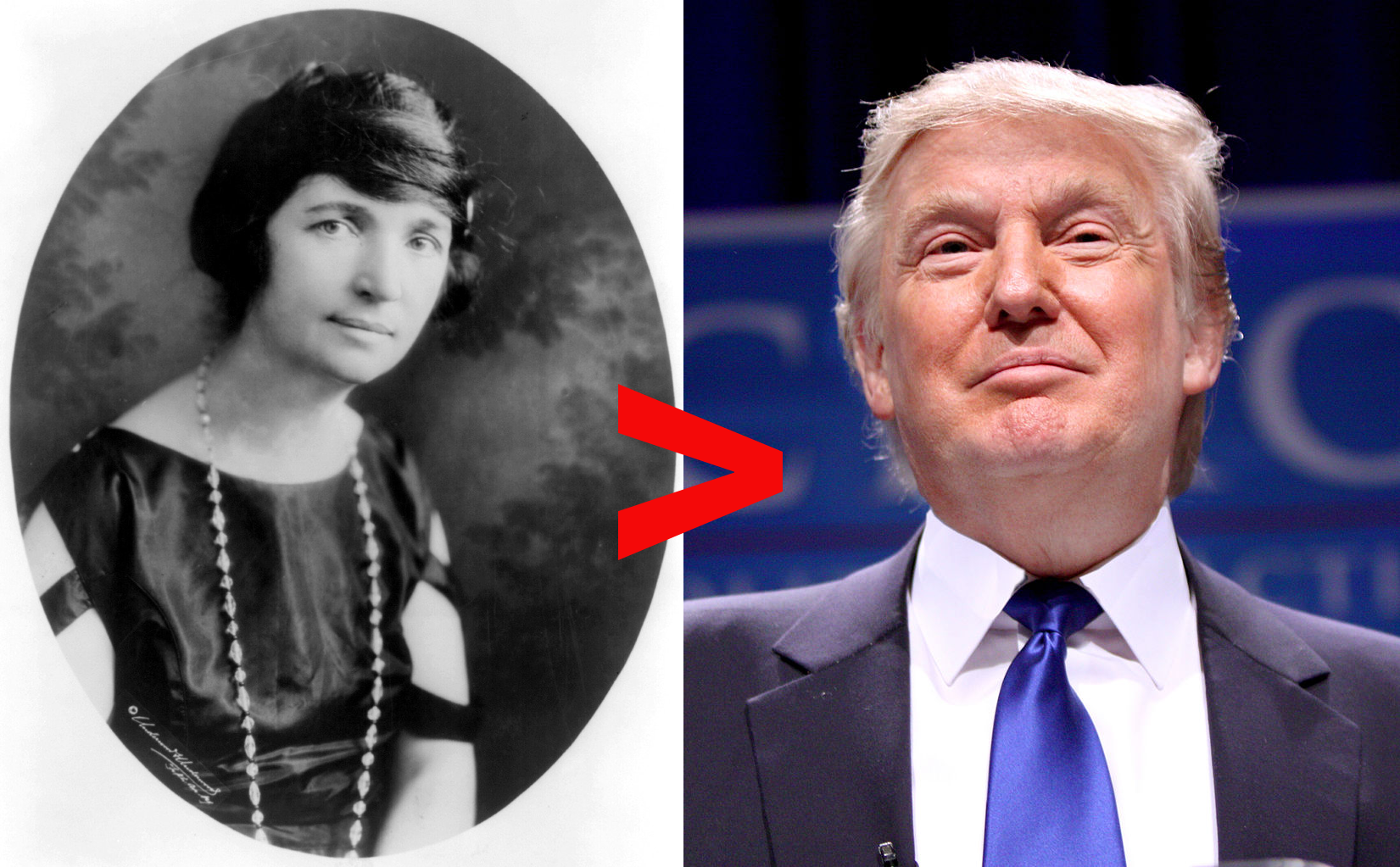Margaret Sanger: not as racist as Donald Trump