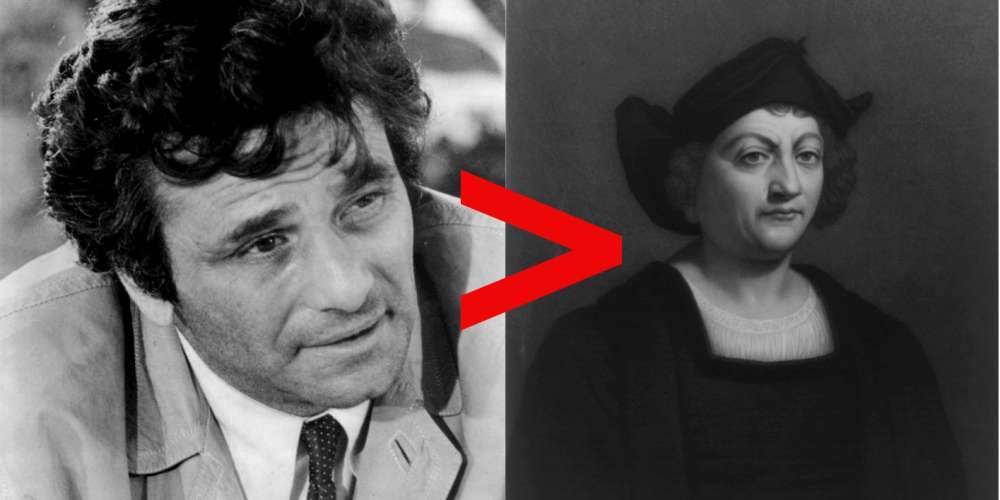 11 Reasons to Celebrate Columbo's Day Instead of Columbus Day