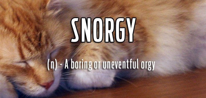 """Snorgy"" And 9 Other Delightfully Irreverent Queer Slang Terms"