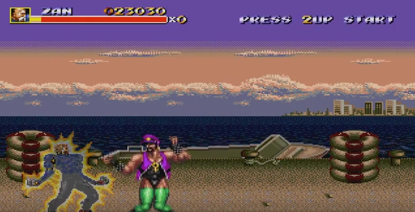 Ash in Streets of Rage 3