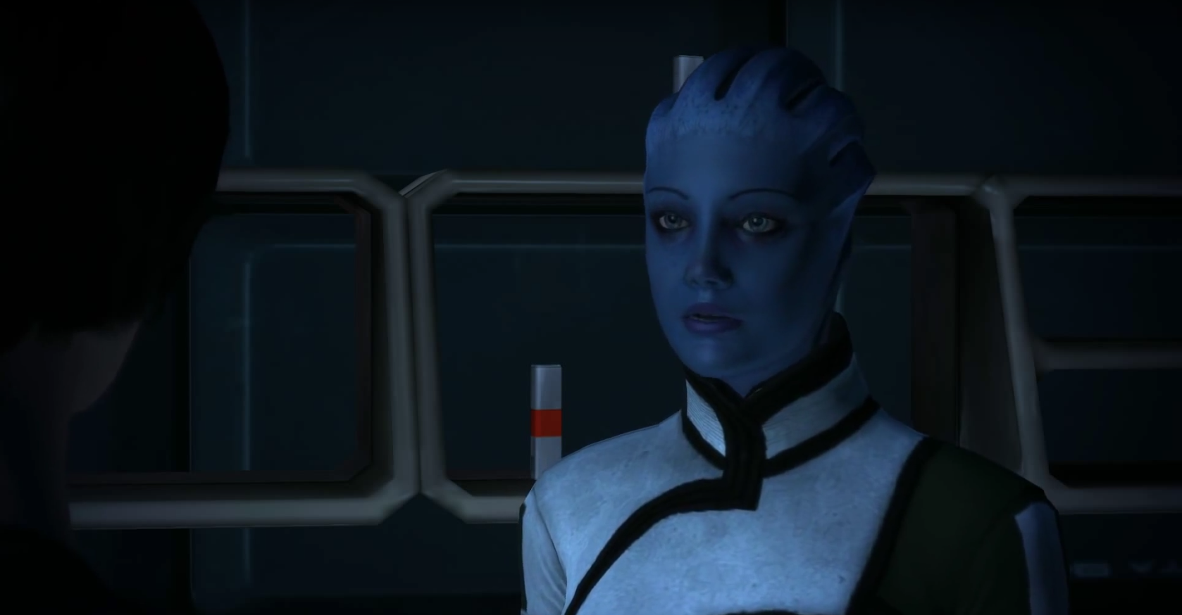 Dr. Liara T'Soni in Mass Effect