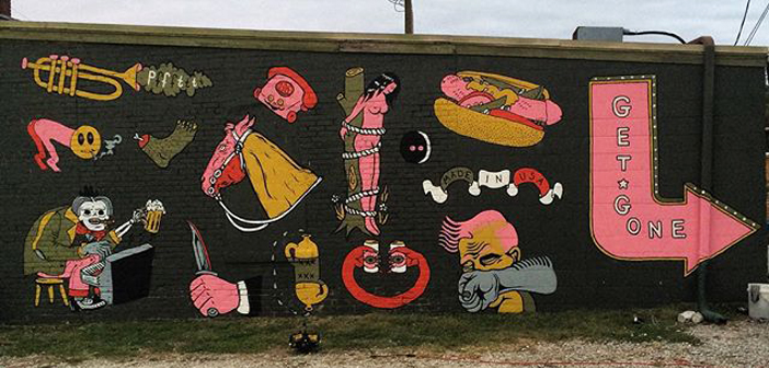 Weiner Mural Upsets Indiana Townspeople