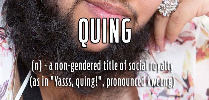 queer slang, term gay, quing