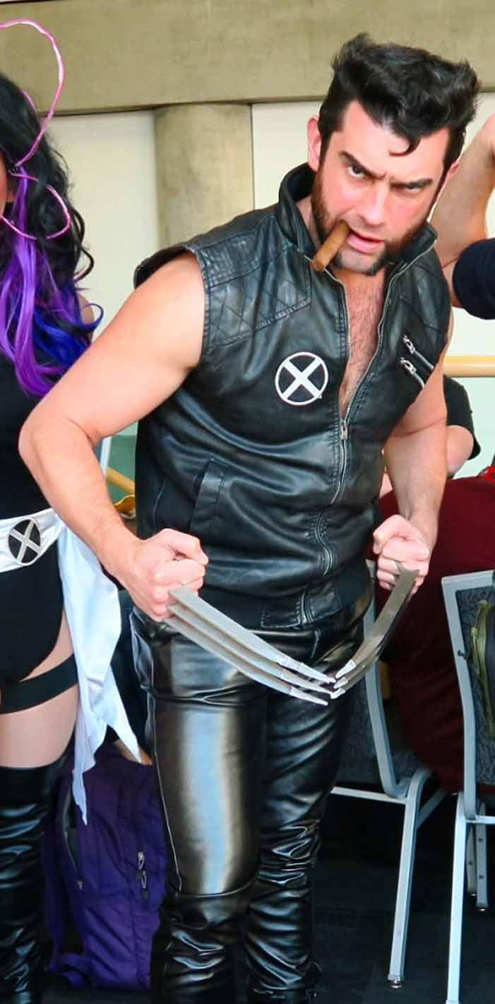 GaymerX, cosplay, video games, geek, costume, Wolverine, X-Men, superhero