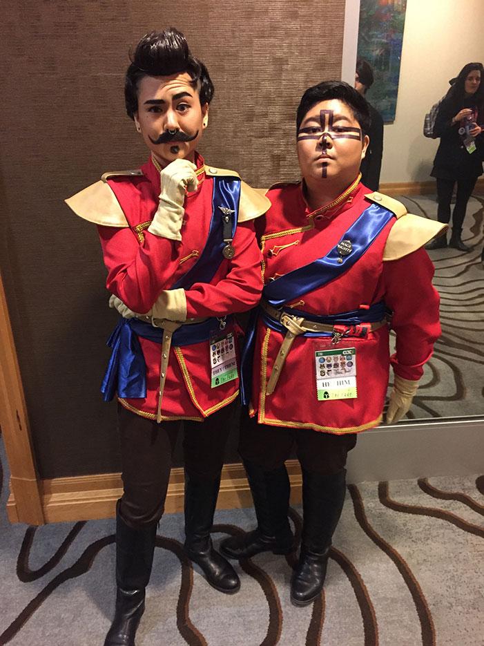 GaymerX, cosplay, video games, geek, costume, soldiers