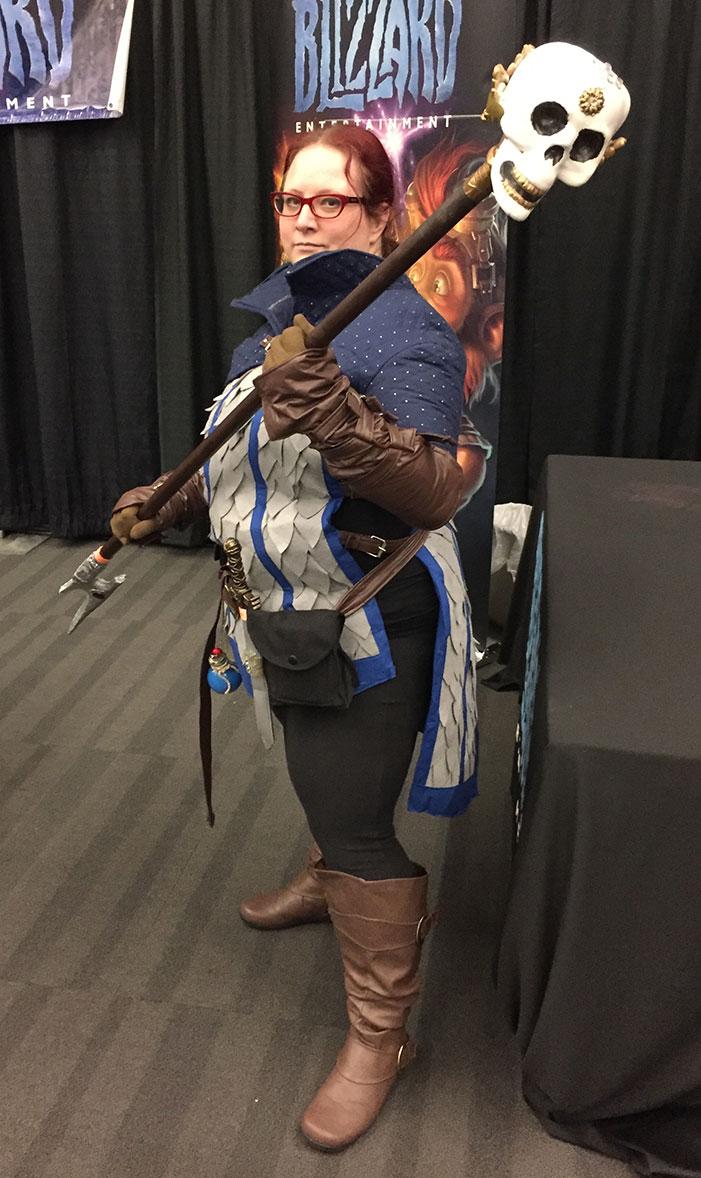 GaymerX, cosplay, video games, geek, costume, wizard, mage, sorcerer
