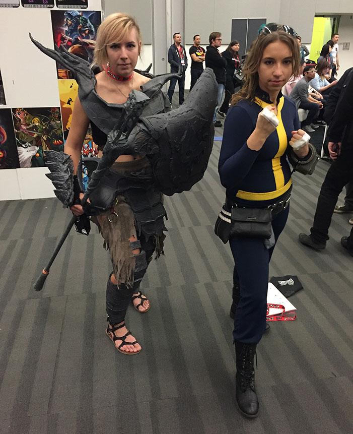 GaymerX, cosplay, video games, geek, costume, Harley Quinn, batman, villain