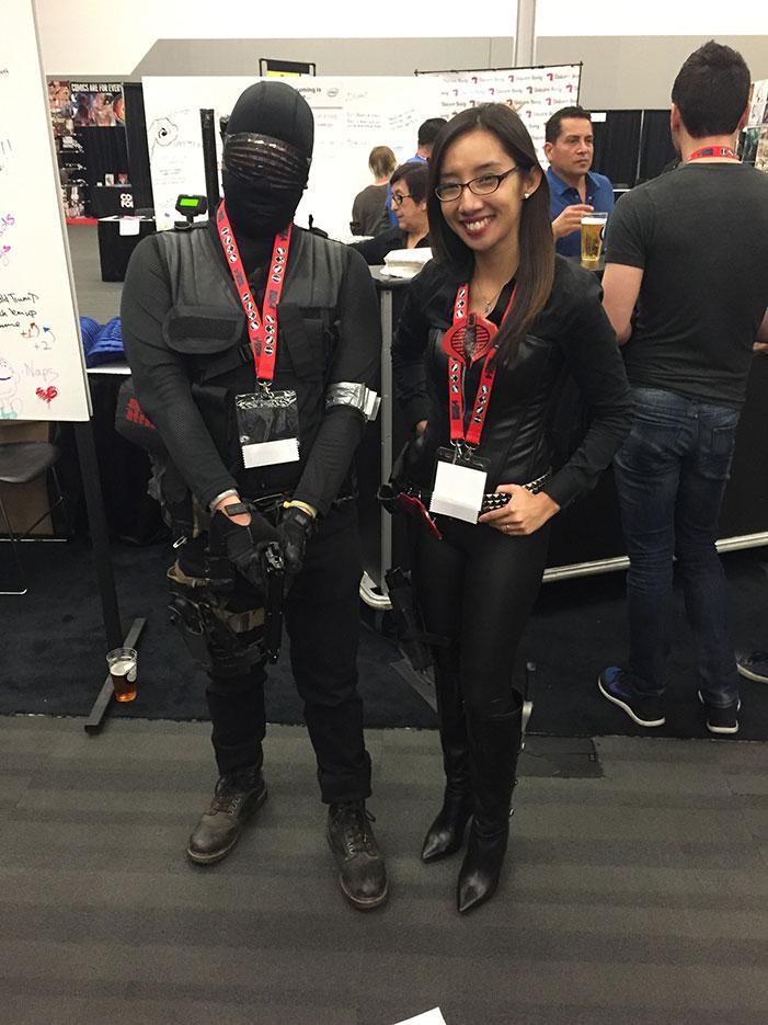 GaymerX, cosplay, video games, geek, costume, Cobra, G.I. Joe