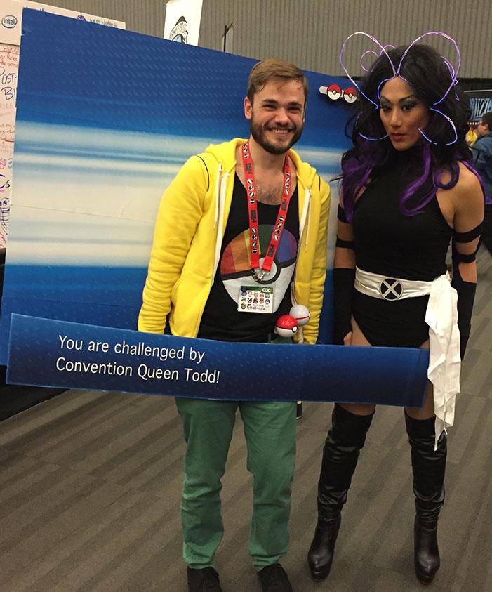 GaymerX, cosplay, video games, geek, costume, Psylocke, X-Men