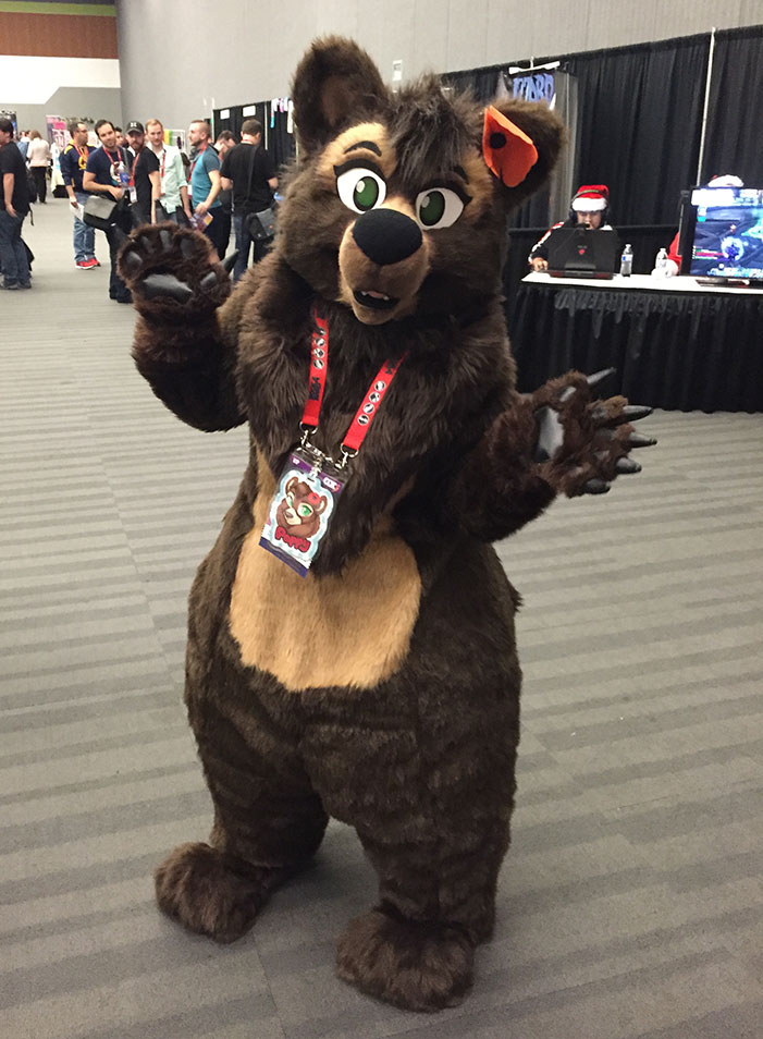 GaymerX, cosplay, video games, geek, costume, Furry, Further Confusion