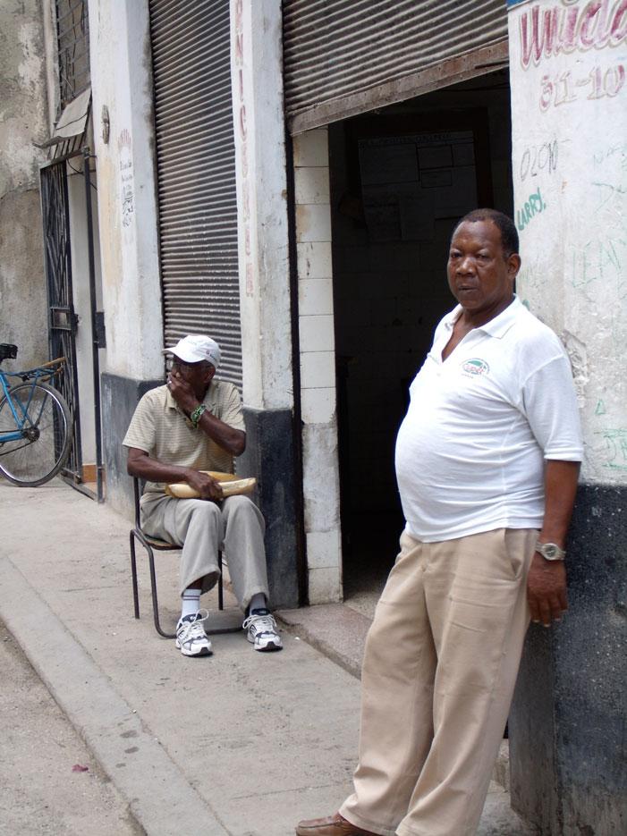 Havana, Cuba, street, men, photograph, picture