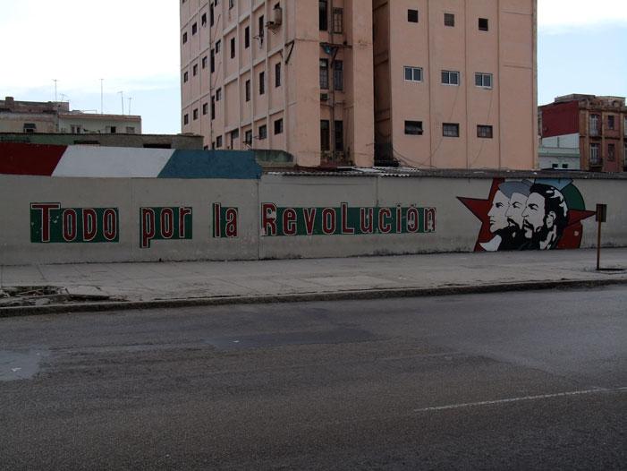 Cuba, Havana, art, street, graffiti, mural, revolutionary