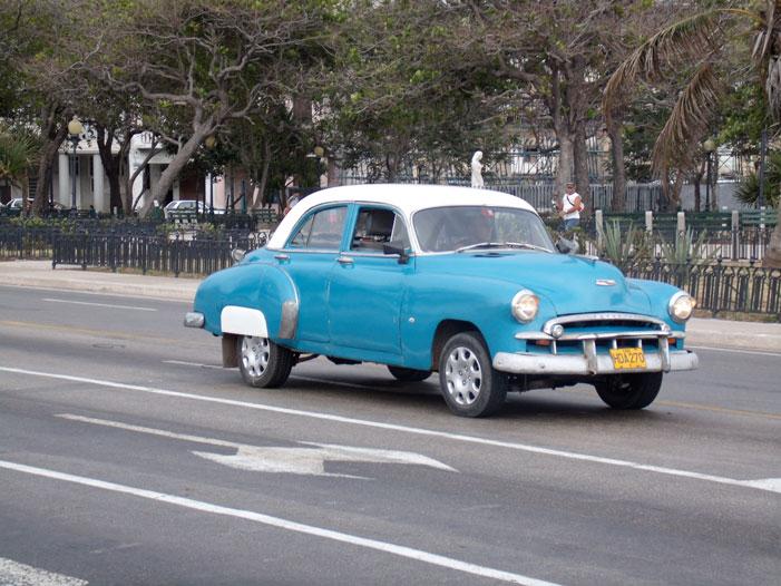 Cuba, Havana, car, street, old, classic, automobile