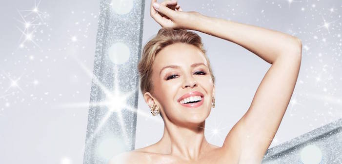 Snuggle Up With Kylie Minogue For Christmas!