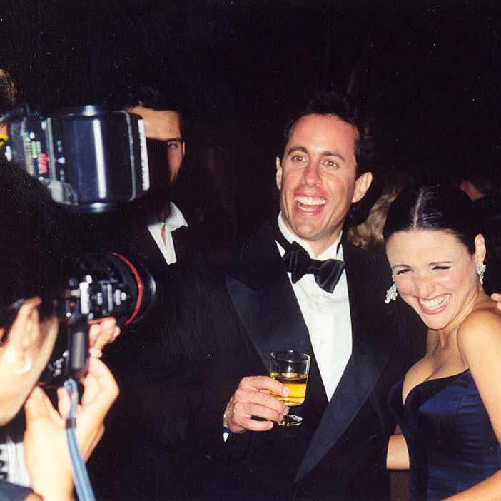 Sryian-American sitcom star Jerry Seinfeld
