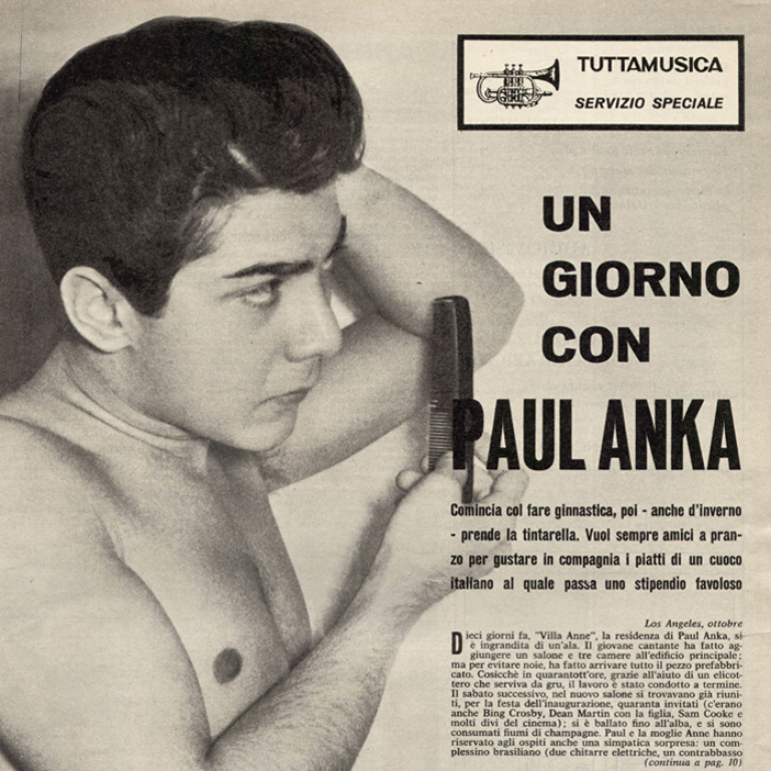 Syrian-American singer songwriter Paul Anka