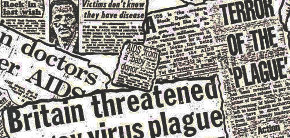 AIDS Headlines Have Slowly Evolved Over the Last 36 Years
