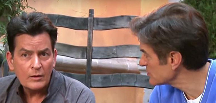 An HIV Activist's Take On Charlie Sheen's Dr. Oz Interview