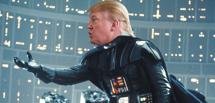 VIDEO: Darth Trump Is Huuuuuge In 'Star Wars'