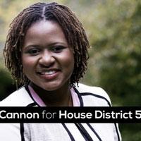 Park Cannon, politician, Black, Twitter