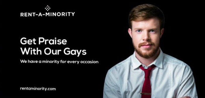 Lesbian Opens Satirical Rent-A-Minority Site, Gets Actual Interest