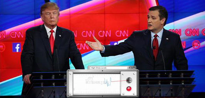 Republicans To Hold Debate With Lie Detectors