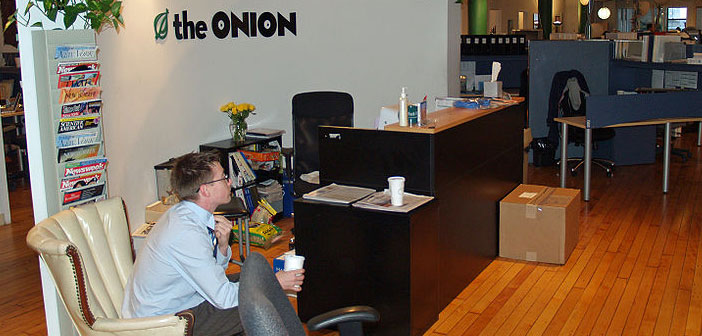 "Satirical Newspaper ""The Onion"" Calls It Quits"