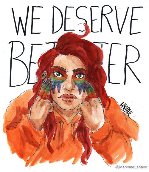 we deserve better, the 100, lesbian death syndrome, tv