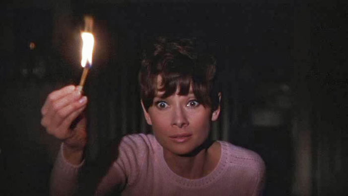 horror, suspense, disability, disabilities, film, movies, Audrey Hepburn, Wait Until Dark