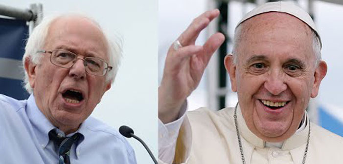 WTW??! Bernie To Visit Vatican While Gays Court Republicans