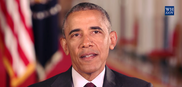 Obama: We Need Our Kids To See Us Live With Love