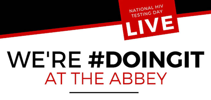 WATCH LIVE: We're #DoingIt At The Abbey!