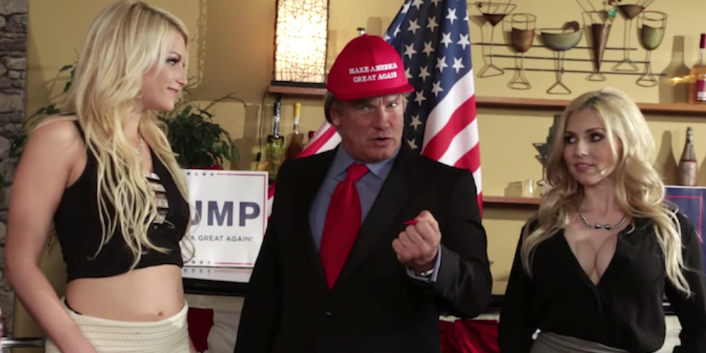 From 'The Donald' to 'Cauke for President,' Here Are Our Top 5 Political Porn Parodies